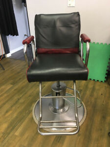 4 used barber chairs for sale
