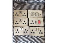 Stainless steel sockets and switches