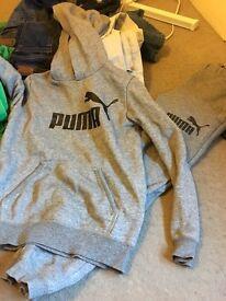 Puma tracksuit age 7/8