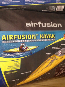 Inflatable Kayak - used only once - 13 foot