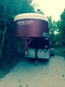Mcbride 3 Horse goose neck trailer