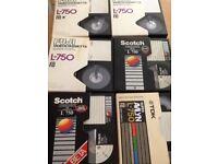 Betamax tapes
