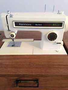 Like New, Built In Sewing Machine with Cabinet