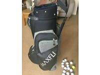Maxfli golf bag for sale