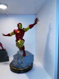 Marvel diamond premier captain america and ironman statue 1/6