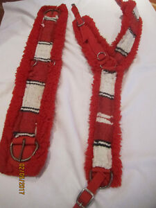 Horse Breast Collar & Cinch Strap~ A1!- Priced to Sell QUICKLY