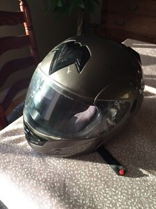 2 motorcycle helmets sold together