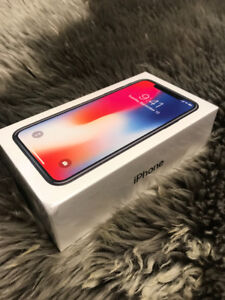 APPLE IPHONE X NEW IN THE BOX UNOPENED UNLOCKED