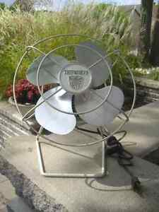 VINTAGE TABLE FANS,TORCAN+ SUPERIOR ELECTRIC