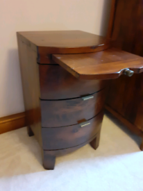 Barker and stonehouse, navajos reclaimed wood bedside cabinet