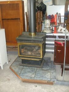 Propane Fire place Asking $300 obo Delivery is Available