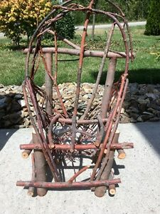 Minature willow chair