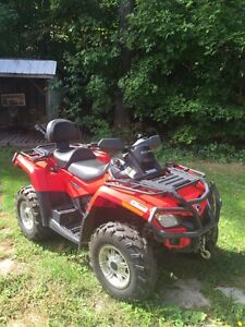 2011 can am outlander max xt with plow