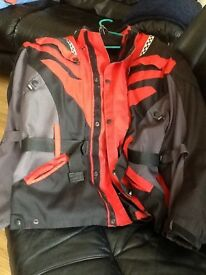 Motor Bike Jacket and liner. 4XLv