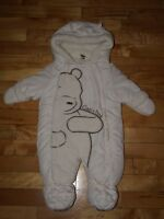 Classic Pooh lined snowsuit