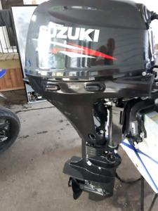 Moteur horbor 20 hp 4 ten  2014 il a consommer 5 litre de gase