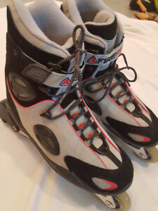 FIREFLY Roller Blades ABEC 3 size 11 US / EUR 45 ... like new!