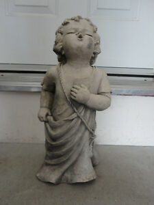 """CHERUB TALKING TO GOD"" DECORATIVE STATUE - TIC COLLECTION London Ontario image 1"