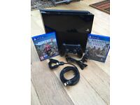 Sony PlayStation 4 500gb with 3 Games