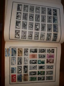 Collection de timbre rare