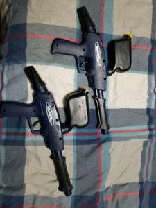 Paintball markers/ guns