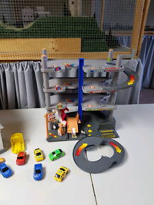 Fisher price garage and parking sets