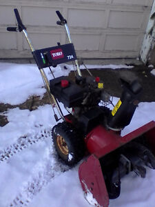 Toro snowblower 7hp/24""