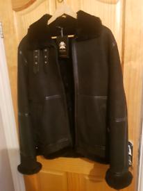Hollert genuine sheepskin Mens jacket