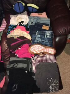 sz 5-7, 20+ items, jeans, tops and more! $50 all