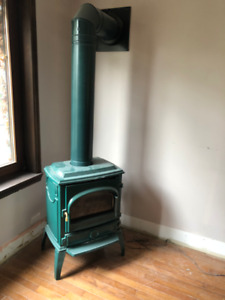 Free Standing Iron Cast Gas Stove Fireplace for sale