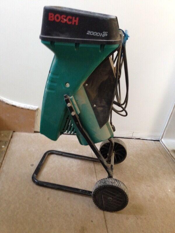 bosch axt hp 2000 garden shredder 60 ono in stoke. Black Bedroom Furniture Sets. Home Design Ideas