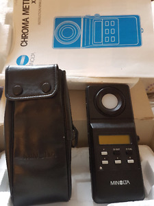 Minolta Chroma Meter (xy-1)