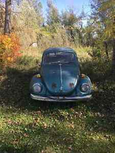 1972VOLKSWAGEN SUPER BEETLE FOR PARTS