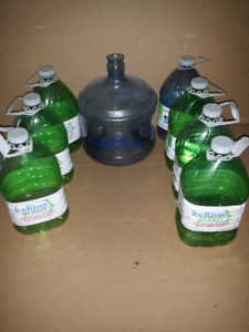 12 L Water Jug and  4L empty water jugs ... Clean