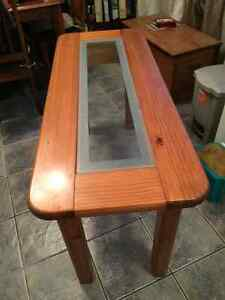 Long side table, real wood! Cambridge Kitchener Area image 2