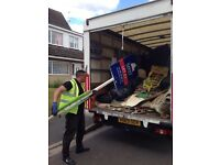 CHEAP AFFORDABLE QUICK *RUBBISH/WASTE* CLEARANCE MAN AND VAN HOUSE/GARDEN/GARAGE/OFFICE REMOVALS