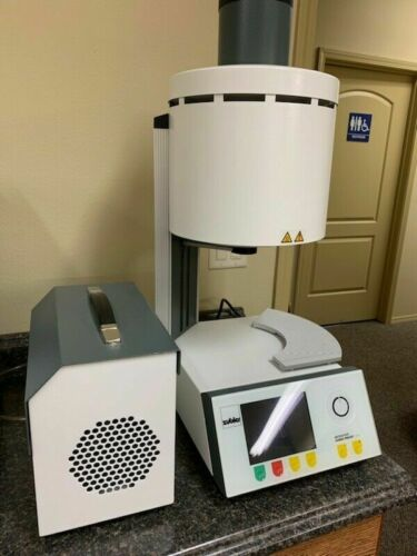 Zubler Vario Press 300 Dental Furnace Restoration Heating Lab Oven with Pump