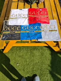 Gucci printed crew neck t shirts