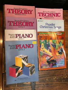 Learn hot to play piano books