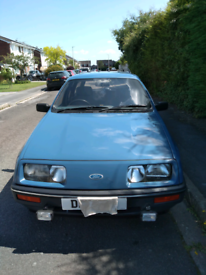 Ford Sierra Estate 1.8 L, 1987, 56K miles and one owner