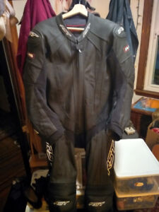 RST R-16 one piece leather race suit