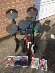 Wii Rock band package