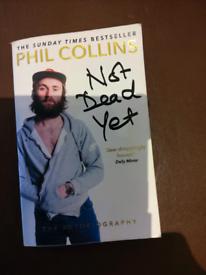 Book, Phil Collins Autobiography.