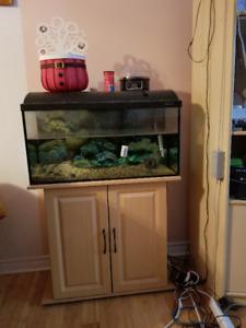 Aquarium 28 gallons