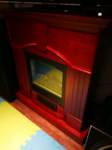 Electric fireplace-heather - $300