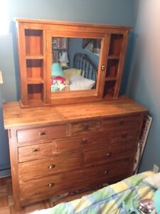 Hand crafted solid pine bedroom furniture
