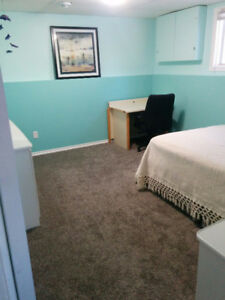 Available Oct 22 Lower level bedroom