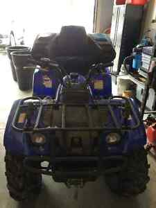 2003 yamaha grizzly 400 quad for sale