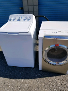 Ge washer and Bosch gas dryer