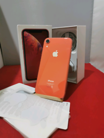 iPhone XR Coral 💥 64gb Unlocked in Prestine Condition comes boxed